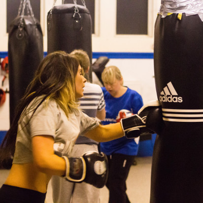 women's boxing, female boxing, boxing classes for girls
