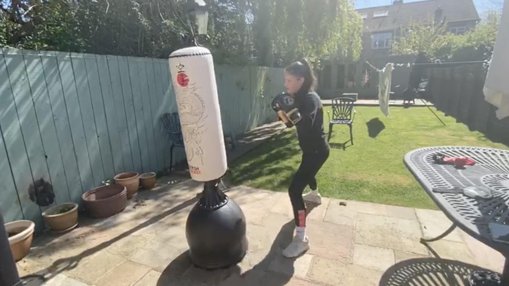Workout with national boxing champion Madi Gittins